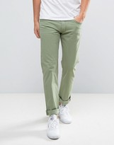 Lee Daren Regular Straight Jeans Sage Green