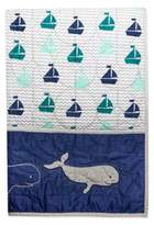 Wendy Bellissimo Wendy BellissimoTM Mix & Match Whale Quilt in Navy/Teal