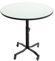 """Whiteboard Table Markerboard Table Dry Circle Activity Table AmTab Manufacturing Corporation Size: 42"""" H x 24"""" L x 24"""" W"""
