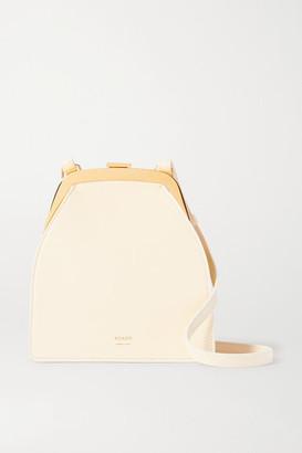 KHAITE Round Frame Leather Shoulder Bag - Off-white