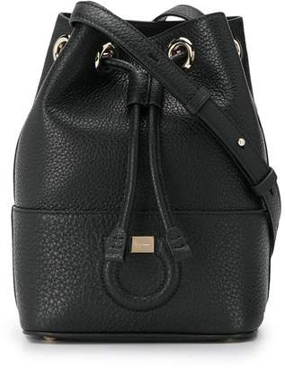 Salvatore Ferragamo Gancini bucket bag