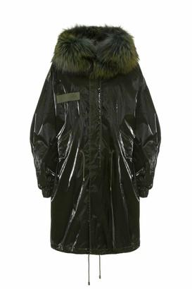 Mr & Mrs Italy Unisex Parka M51 With Fox Fur Collar