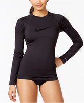 Nike Long-Sleeve Rash Guard Women's Swimsuit
