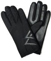 Accessory Necessary LL Mens Warm Spandex Driving Gloves with Fleece Lining, Faux Leather Palms