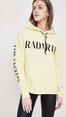 Rodarte RAD Oversize Radarte Font Hoodie