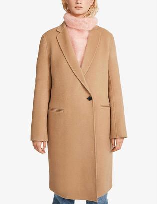 Claudie Pierlot Goodman single-breasted wool coat