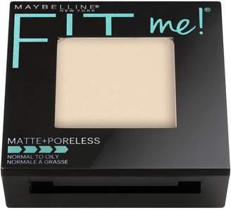 Maybelline Fit Me Matte Plus Poreless Powder