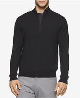 Calvin Klein Men's Merino Wool Quarter-Zip Sweater