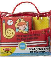 Melissa & Doug Firefighter Fred Soft Book