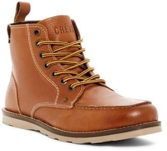 Crevo Buck Moc Toe Boot