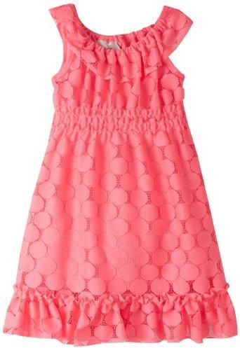Rare Editions Girls 2-6X Lace Dress
