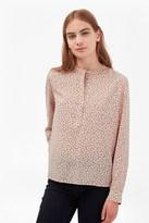 French Connection Falaise Fleur Grandad Collar Shirt