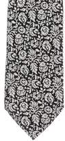 Charvet Floral Jacquard Silk Tie