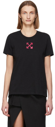 Off-White Black and Pink Arrows T-Shirt