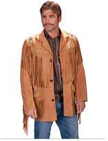 Scully Men's Fringe Leather Jacket 902 Long