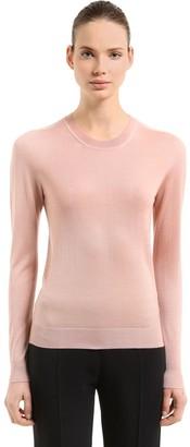 Jil Sander Cashmere & Silk Blend Knit Sweater