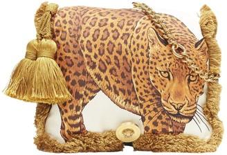 Versace Gold Silk Handbags