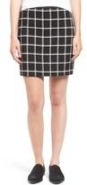 Madewell Women's 'Bowery' Plaid Miniskirt