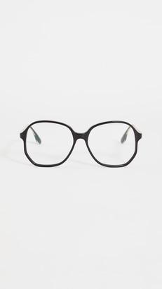 Victoria Beckham Oversized Square Acetate Glasses