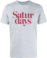 Saturdays NYC 'saturdays' print T-shirt - men - Cotton - S