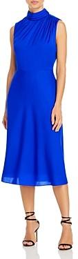 Milly Fineee Mockneck Dress
