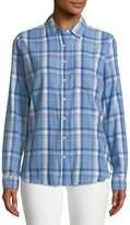 DL1961 Premium Denim Women's Mercer & Spring Plaid Shirt