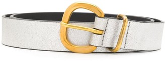 Rachel Comey Metallic Buckle Belt