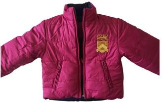 Ralph Lauren Pink Fur Jackets & Coats