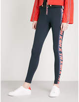 Tommy Hilfiger x Gigi Hadid logo-print stretch-jersey leggings