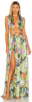Bronx and Banco Tropics Maxi Dress