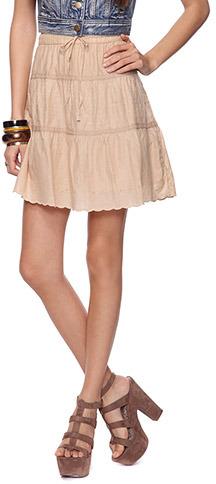 Forever 21 Peasant Skirt