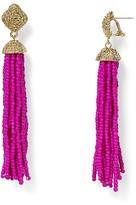 Aqua Leslie Tassel Drop Earrings - 100% Exclusive