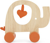 Natures Purest My First Friend wooden elephant push-along toy