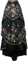 Eavis & Brown embroidered full ball skirt