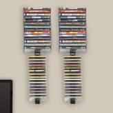 Symple Stuff Multimedia Wall Mounted Storage Rack