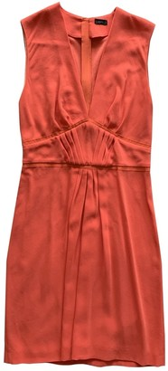 Joseph Orange Polyester Dresses