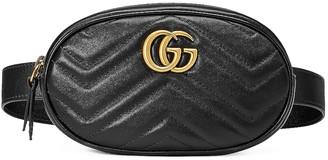 Gucci GG Marmont 2.0 Belt Bag in Black | FWRD