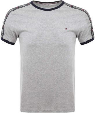 Tommy Hilfiger Loungewear Round Neck T Shirt Grey