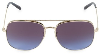 Oliver Peoples Taron 58MM Aviator Sunglasses