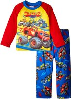Nickelodeon Blaze 2 Piece PJ Set (Toddler) - Red/Blue - 2T