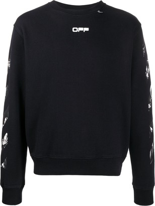 Off-White Art Print Sweatshirt