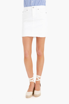 Vineyard Vines White Cap Denim Skirt