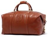 Ghurka Men's Cavalier Ii Leather Duffel Bag - Brown