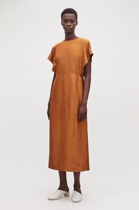 Cos Kimono-Shape Sleeve Long Dress