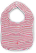 Ralph Lauren Striped Cotton Bib