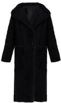 Joseph Maybelle Reversible Shearling Coat - Womens - Black