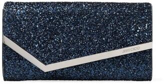 Jimmy Choo Glitter Emmie Clutch Bag