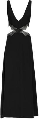 SIR the Label Alma Silk Satin & Lace Midi Dress