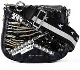 Marc Jacobs small Nomad satchel bag - women - Calf Leather/Polyester/Crystal/glass - One Size
