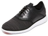 Cole Haan Zerogrand Knit Saddle Lace Up Sneakers